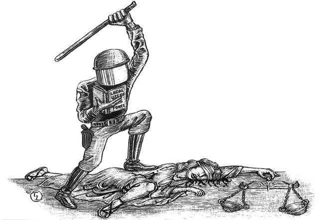 Η αστυνομική βία σε μια σύγχρονη δημοκρατική κοινωνία