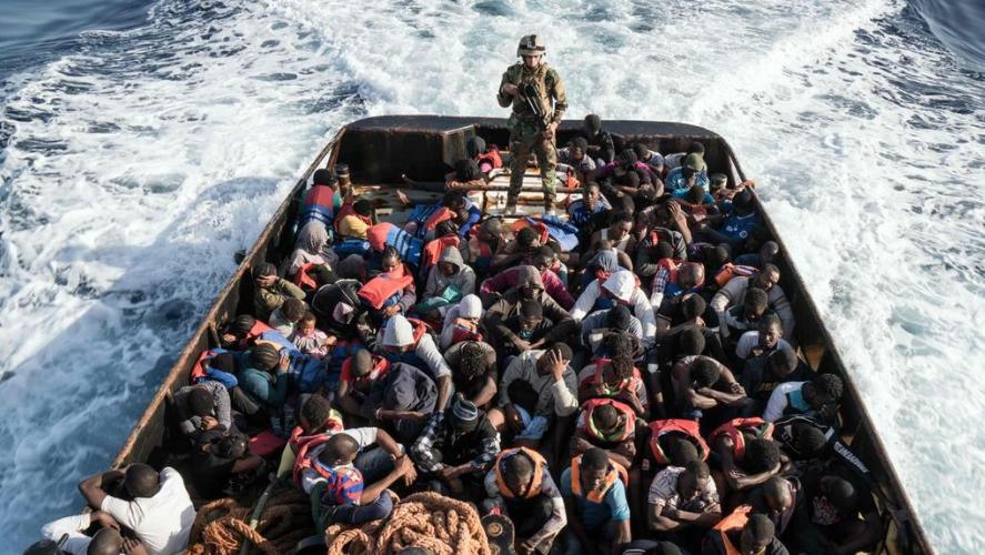 Εμπορία ανθρώπων και μετανάστευση