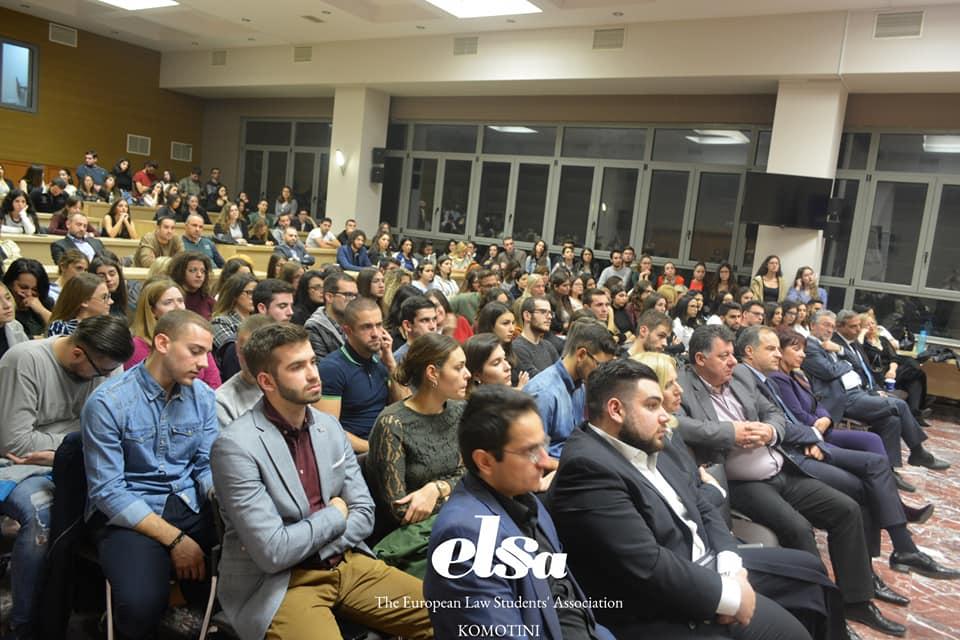Σεμινάριο της ELSA με τίτλο: «Οι Ποινικές Επιστήμες: Από τη θωρία στην πράξη»